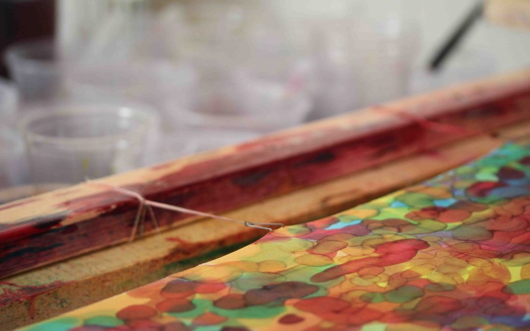 Workshop Kleuranalyse & Experimenteel zijde schilderen